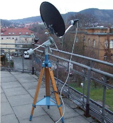 das 'very small radio telescope''